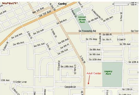 Canby Map